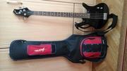 Продам бас-гитару lnvasion Bg110 + Модулятор звука Kong ax3b