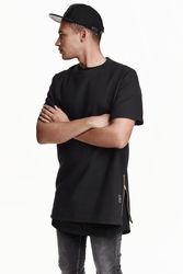 Полотняная футболка H&M